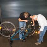 Fahrradreparatur beim Repair-Cafe